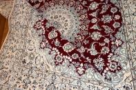 ペルシャ絨毯伝統デザインナインリビング57040