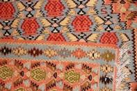 ペルシャ手織りキリムのセネ産地ウール46517