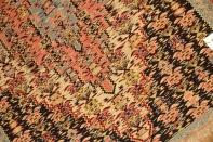 セネキリムの玄関マットイラン輸入ウール46519