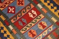 ランナーの手織りペルシャキリムシラズ産地3536