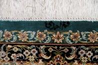 可愛い玄関マットシルク手織りぺるしゃジュウタン56006