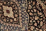 ペルシャ絨毯クムシルクの有名工房48027