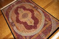 最高級手織りシルクペルシャ絨毯クムシルク有名工60014房