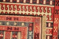 キリムの玄関マットシルジャン産地イラン製46466
