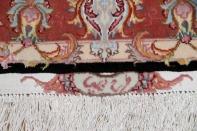 高級手織りペルシャ絨毯、タブリーズセンターラグ777000