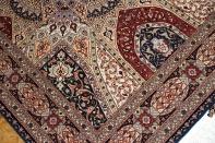 ゴンバディデザイン高級手織りペルシャラグ絨毯59005