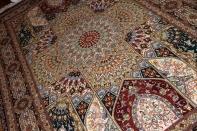 ゴンバディデザインリビングサイズ手織り高級ペルシャ絨毯59001