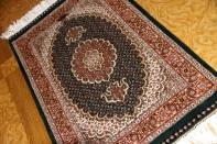 ペルシャ絨毯玄関マット、タブリーズのマヒデザイン44314