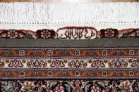 最高級リビング絨毯ペルシャタブリーズマヒ555997