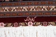 タブリーズ手織り高級ペルシャ絨毯マヒデザイン59004
