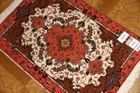 かわいいラグマットタブリーズペルシャ絨毯34088