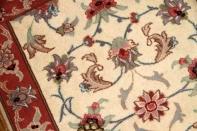 ペルシャ絨毯タブリーズ玄関マット35315