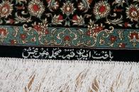 最高級手織りシルクのペルシャ絨毯48044