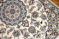 代表的なナインの色彩ペルシャ絨毯マット58057