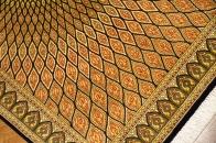 ゴンバディ激安ペルシャ絨毯クムシルク50031