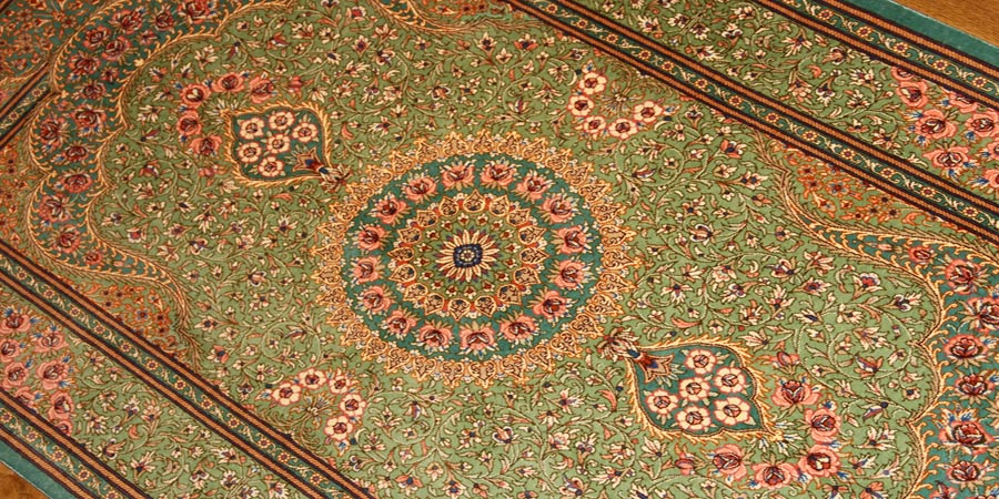persian carpet design medallion