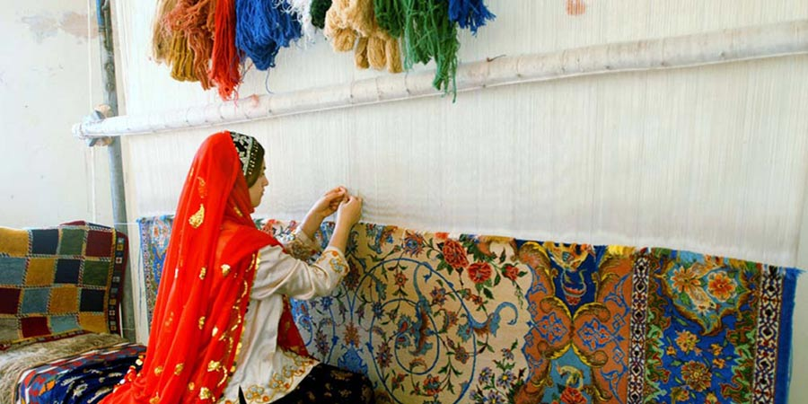 persian carpet weaving 02