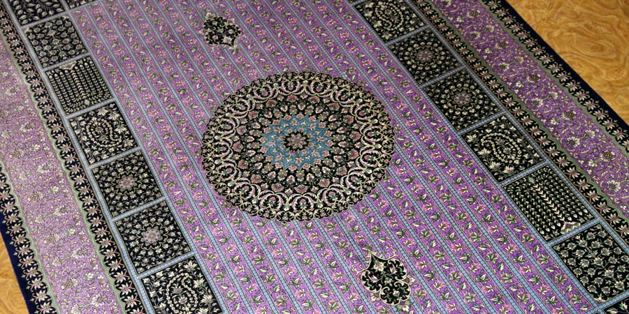 top quality silk carpet 01