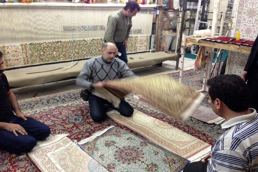 persian carpet sellecting 7