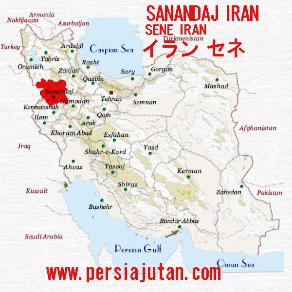 iran-kordestan-map