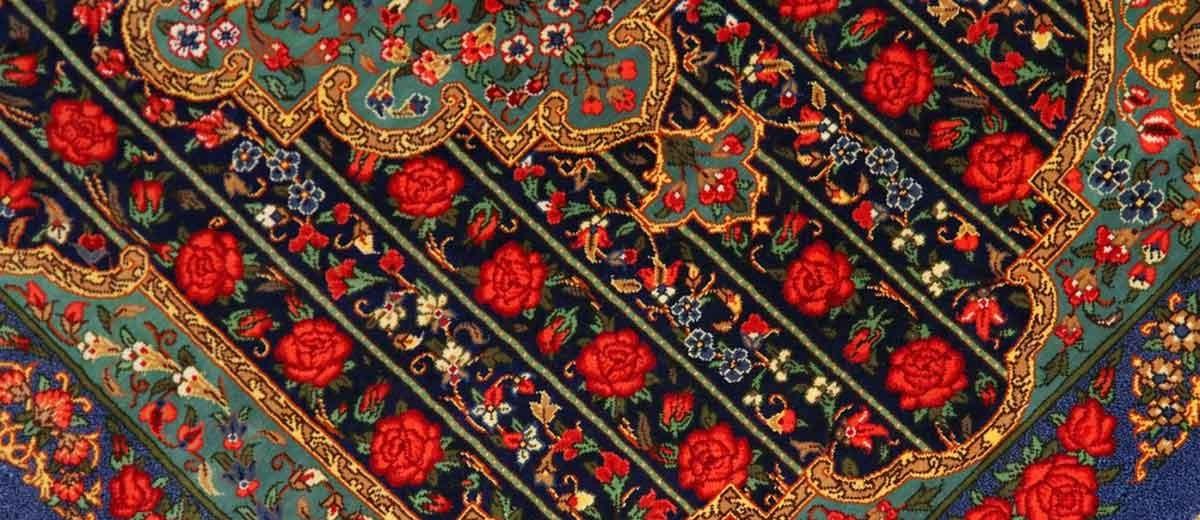 ペルシャ絨毯シルク