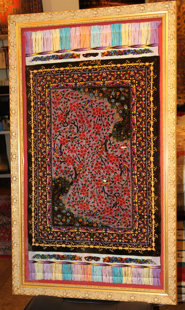 high quality silk persian carpet 56015 2